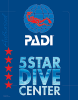 Insist on a PADI 5* Center.