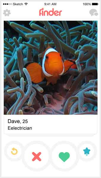 If fish were on Tinder 2