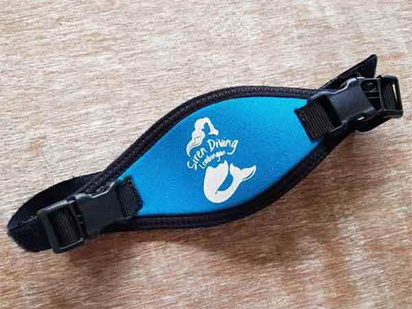 A comfortable mask strap