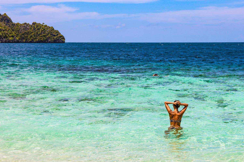 tropical sea water